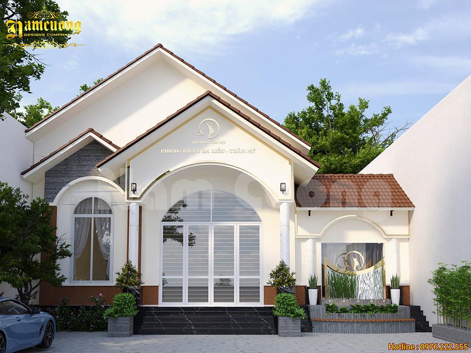Mẫu thiết kế phòng khám da liễu và thẩm mỹ Tây Ninh