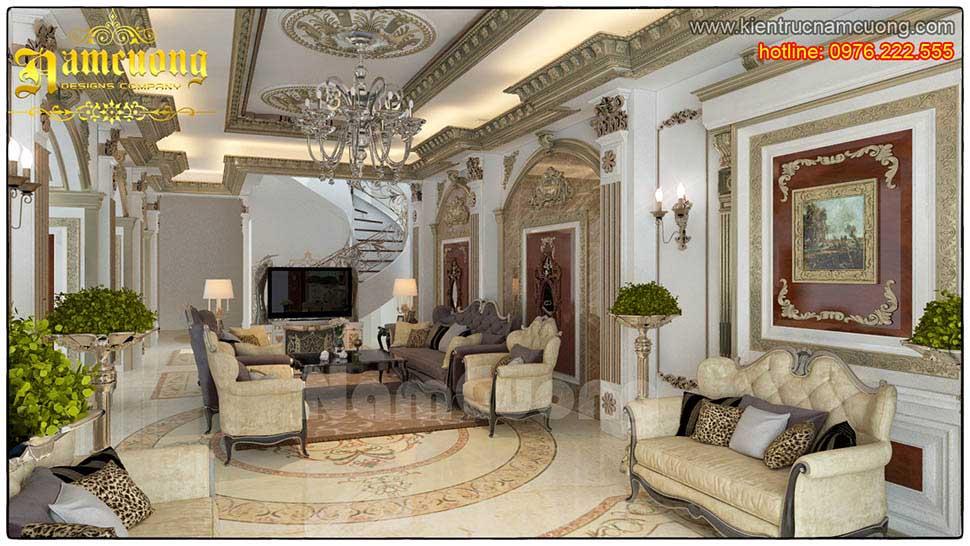 Chọn đèn trang trí phòng khách tân cổ điển cần chú ý gì?