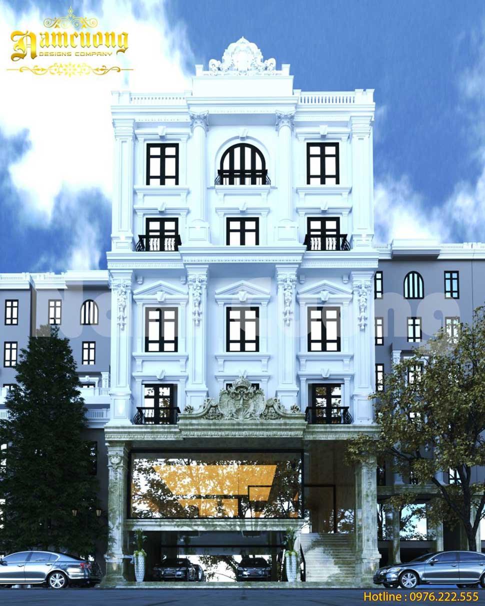 Vén bức màn bí mật về vẻ đẹp của mẫu thiết kế khách sạn tân cổ điển