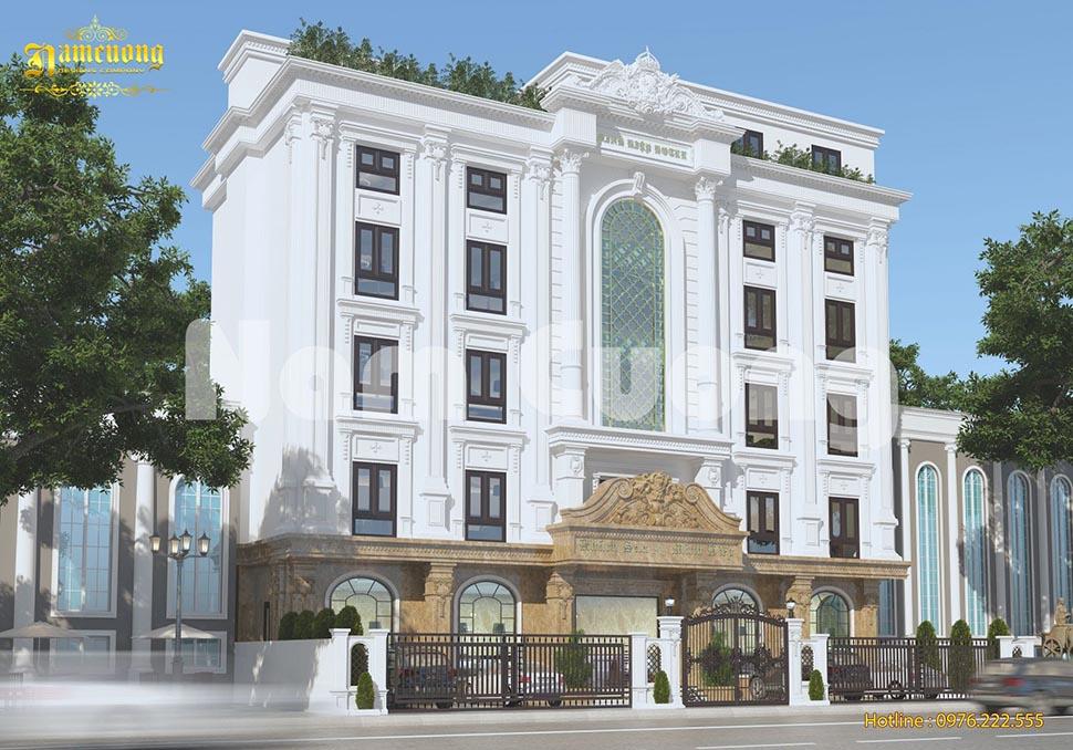 Mẫu thiết kế khách sạn đẹp tại Quảng Ninh