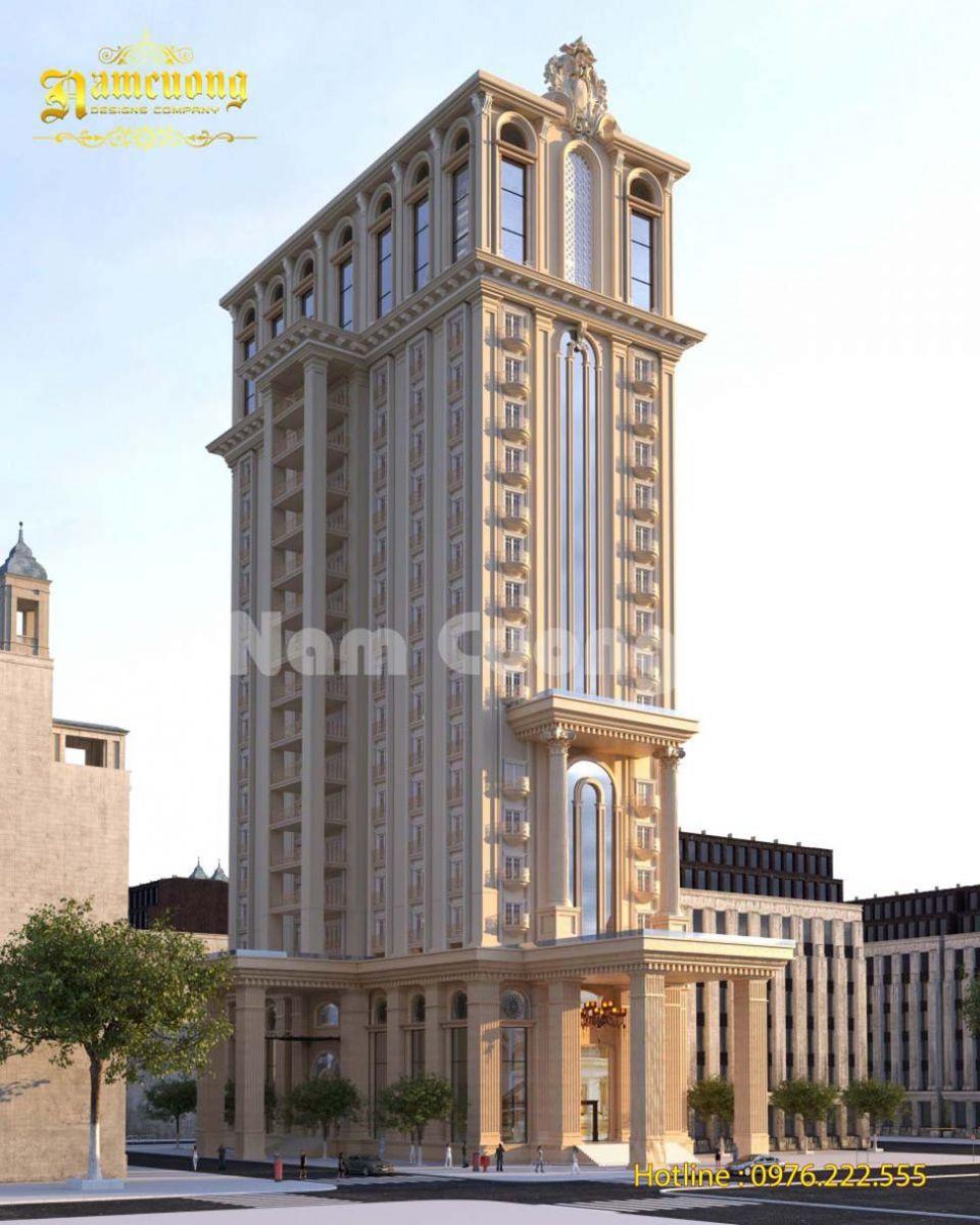 Các mẫu thiết kế khách sạn 3 sao đẹp hút khách