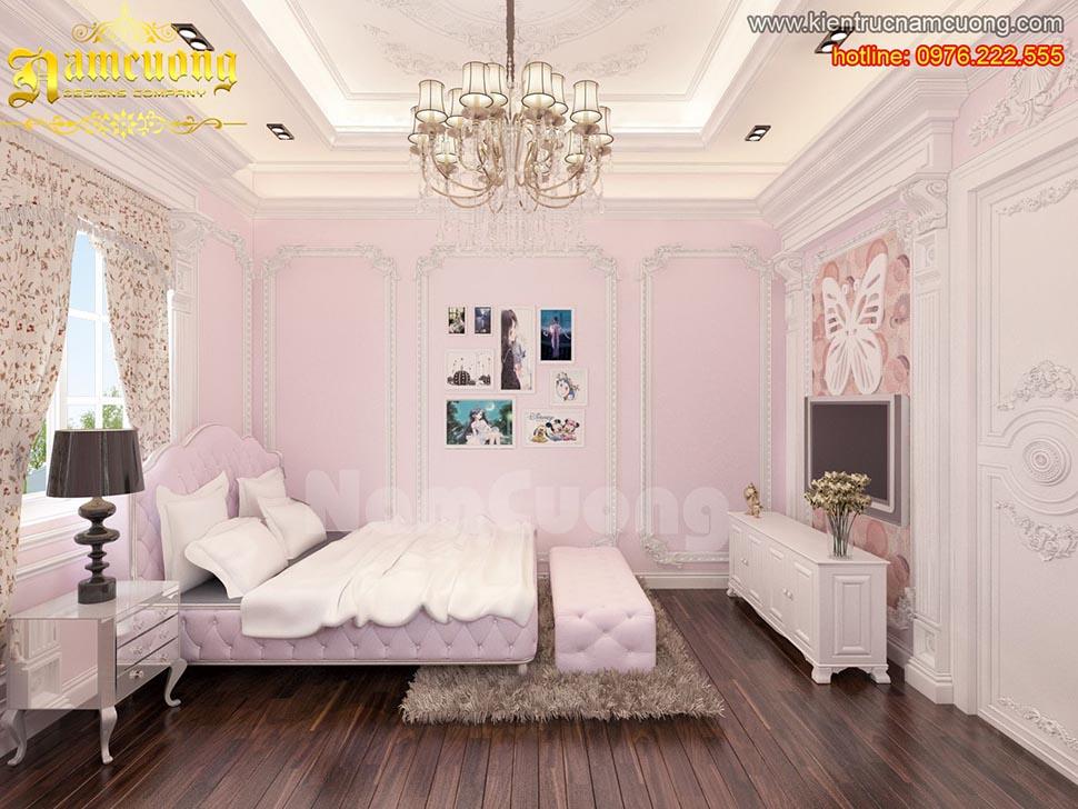 Khám phá một số mẫu phòng ngủ tân cổ điển đẹp