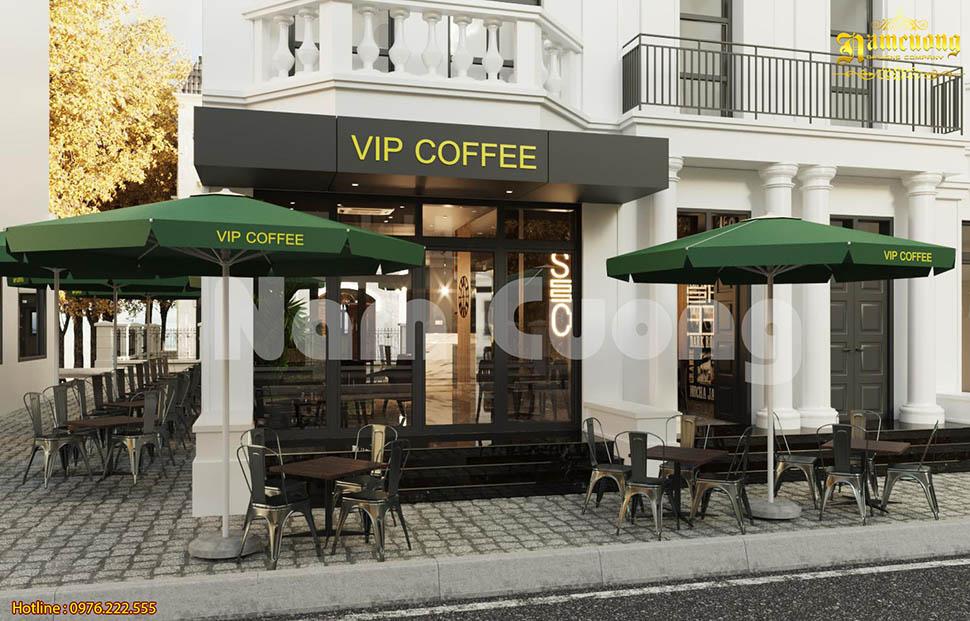 Mẫu thiết kế quán cafe VIP vạn người mê ở Hải Phòng