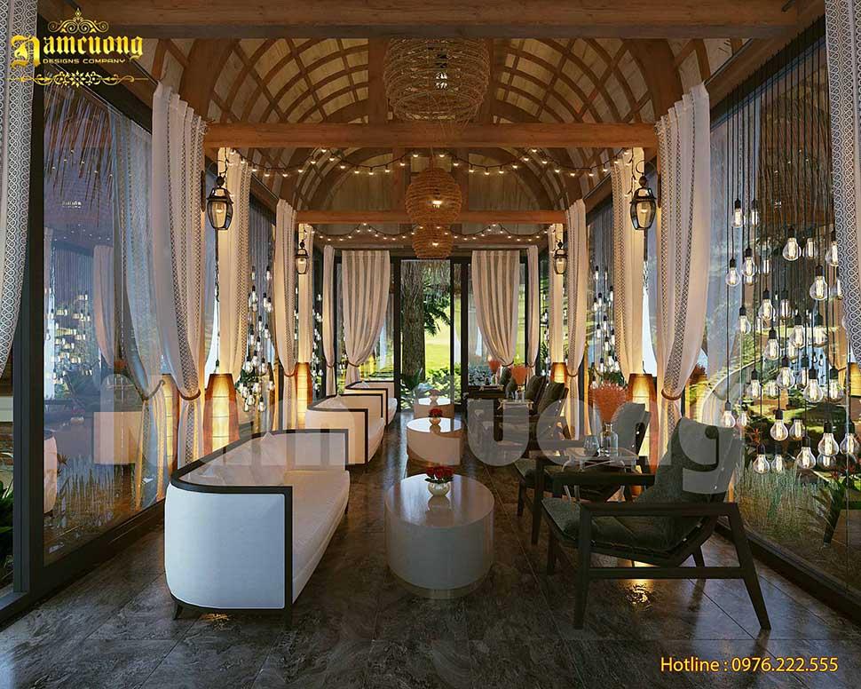 Độc đáo với mẫu thiết kế cafe vườn tại Đà Lạt
