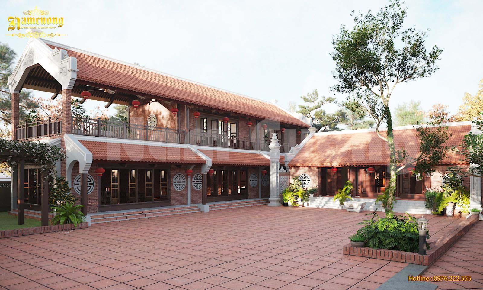 Thiết kế nhà ở kết hợp nhà thờ họ truyền thống