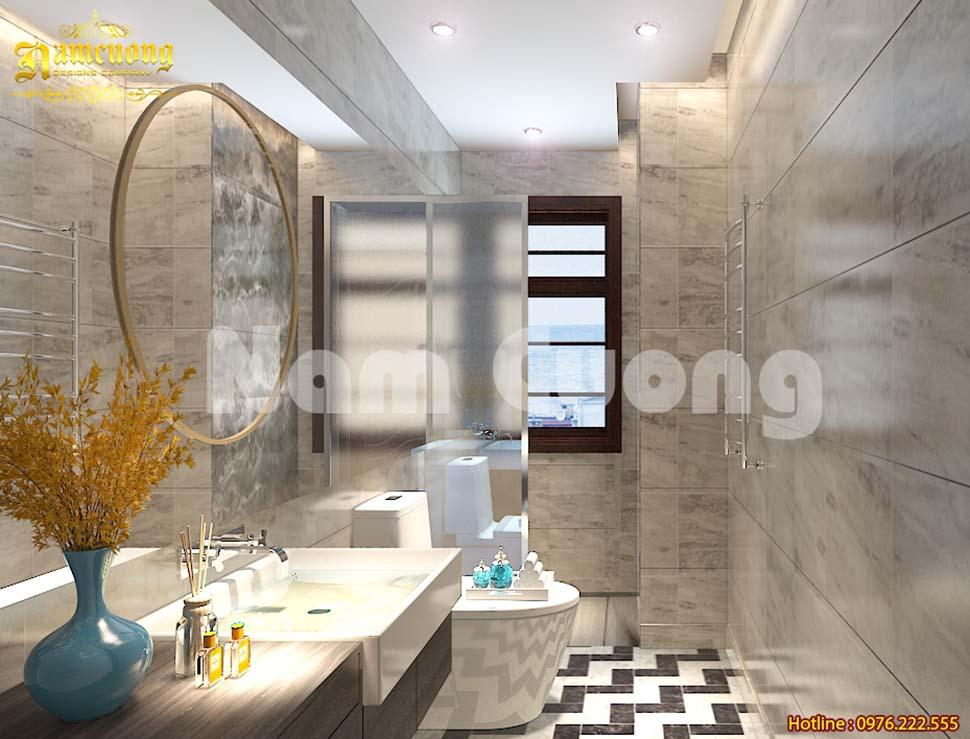 Các mẫu thiết kế nội thất nhà vệ sinh vách kính đẹp