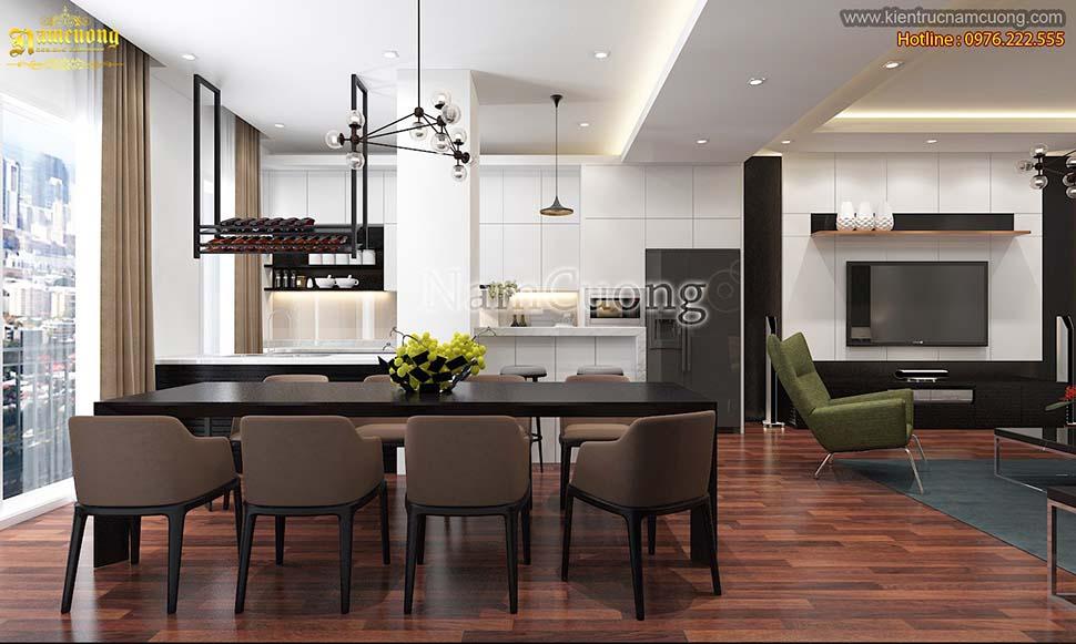 Mẫu nội thất biệt thự 2 tầng hiện đại đang được yêu thích nhất hiện nay