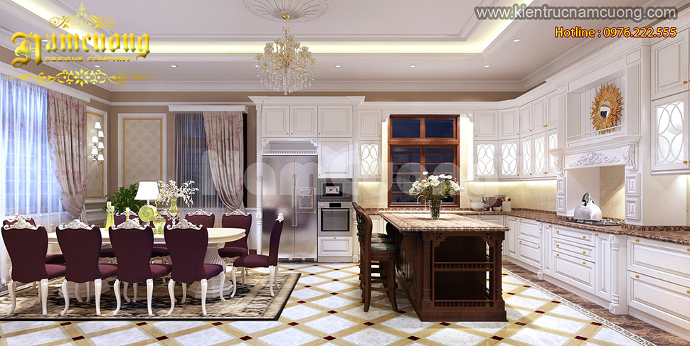 Ngắm nhìn mẫu thiết kế nội thất biệt thự tại Sài Gòn