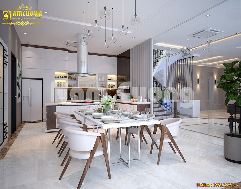 Đơn vị thiết kế nội thất biệt thự Vinhome uy tín