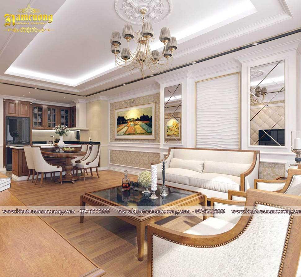 Mẫu thiết kế nội thất chung cư cao cấp