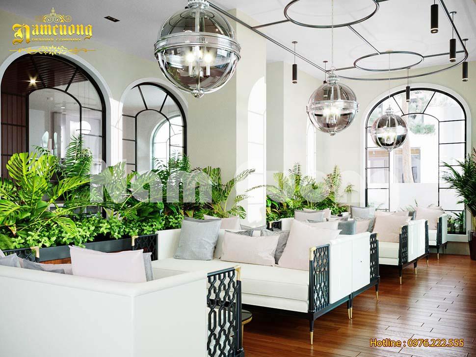 Mẫu thiết kế nội thất khách sạn 2 sao tân cổ điển đẳng cấp