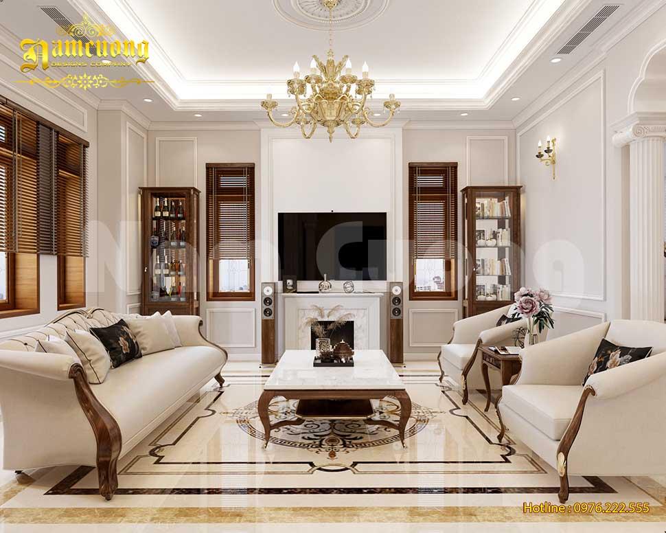 Mẫu nội thất nhà biệt thự 3 tầng được yêu thích nhất 2021