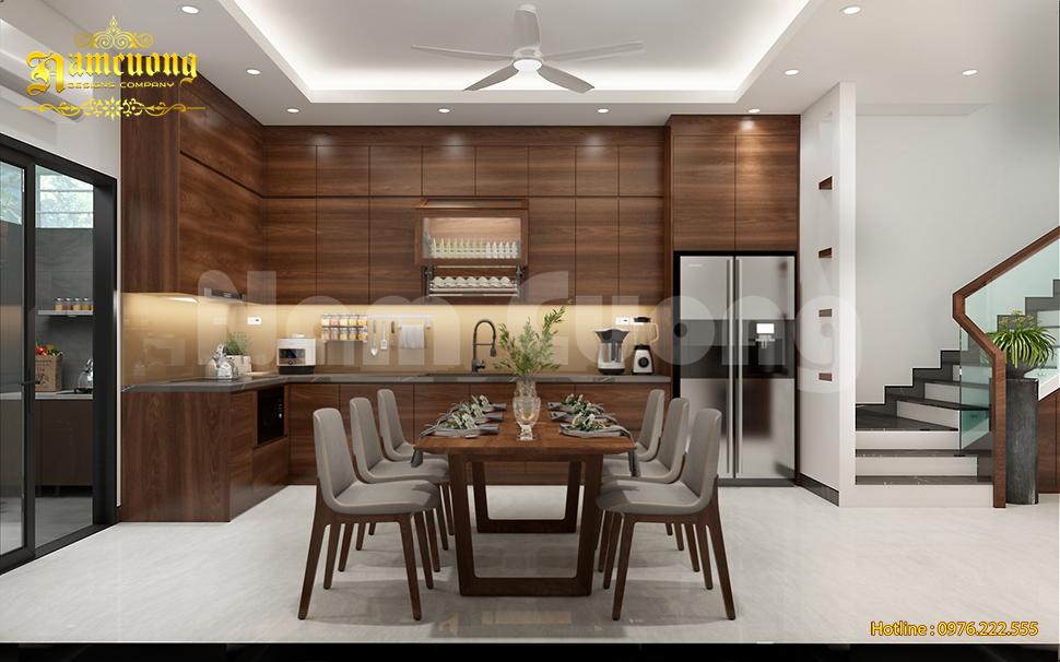 Tham khảo mẫu thiết kế nội thất nhà phố 5m hiện đại