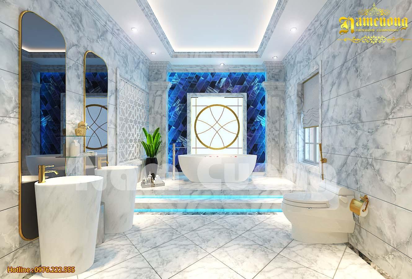 Mẫu thiết kế nội thất phòng vệ sinh đẹp