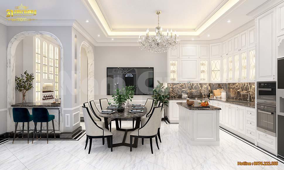 Tìm hiểu phong cách nội thất tân cổ điển cao cấp