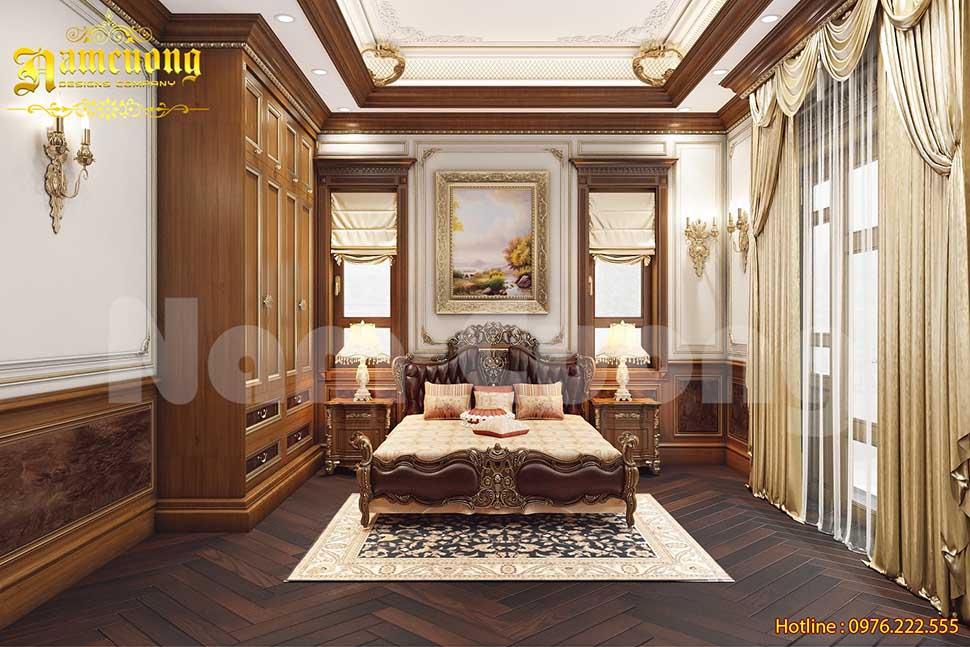4 mẫu nội thất tân cổ điển phòng ngủ đẹp