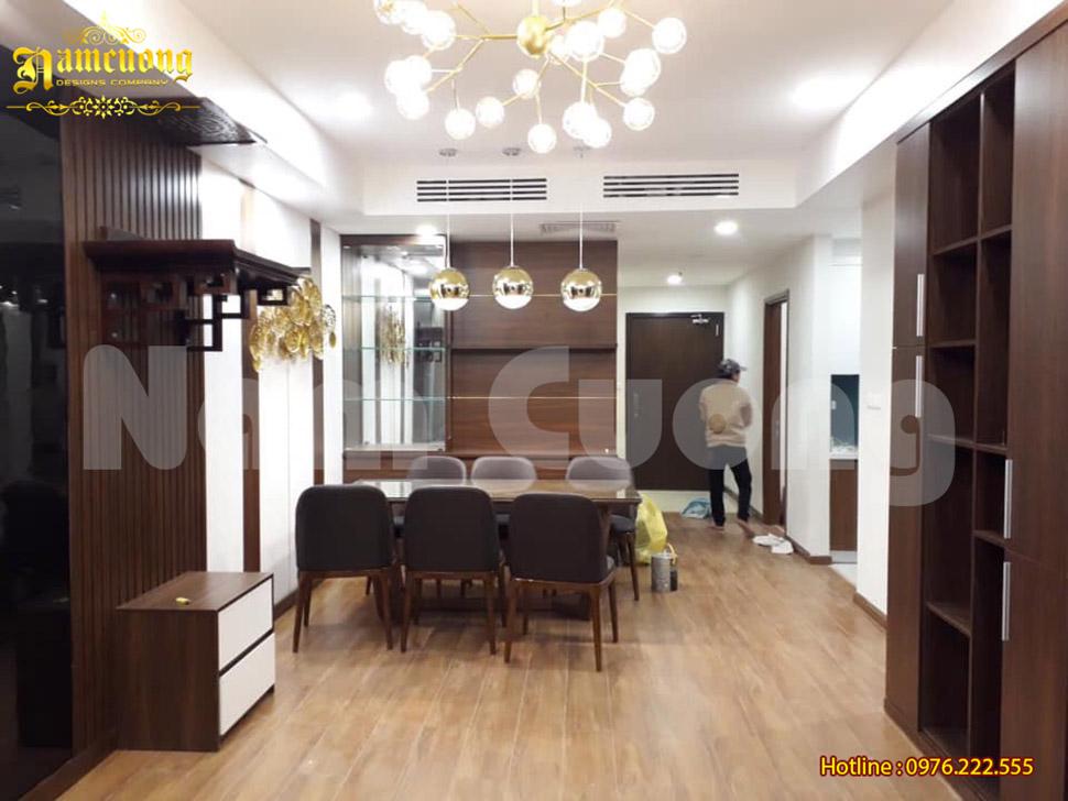Thi công chung cư hiện đại sang trọng tại Hà Nội