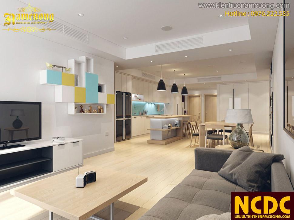 Xu hướng mới thiết kế nội thất chung cư 2019