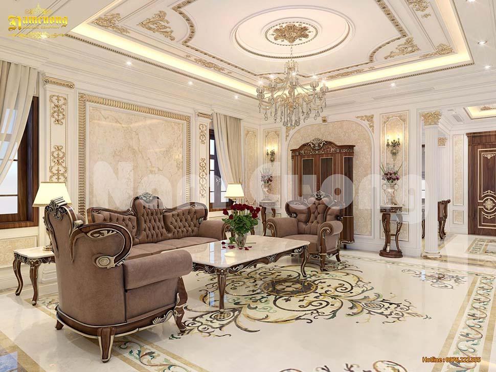 Tổng hợp những mẫu phòng khách tân cổ điển đẹp