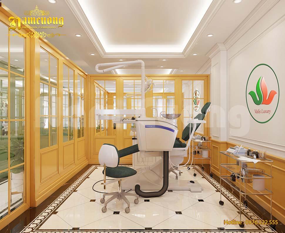 Thiết kế phòng khám nha khoa đẹp và đạt chuẩn