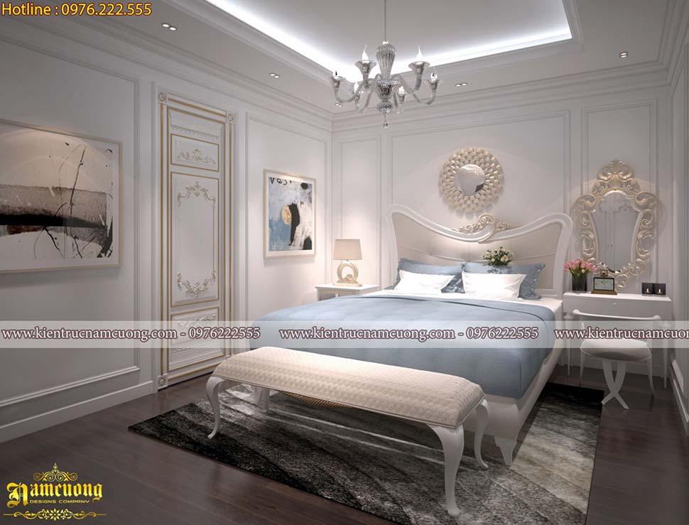 Thiết kế phòng ngủ màu xanh đẹp không thể bỏ qua
