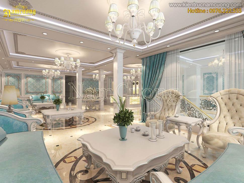 Mẫu thiết kế sảnh khách sạn 4 sao đẳng cấp