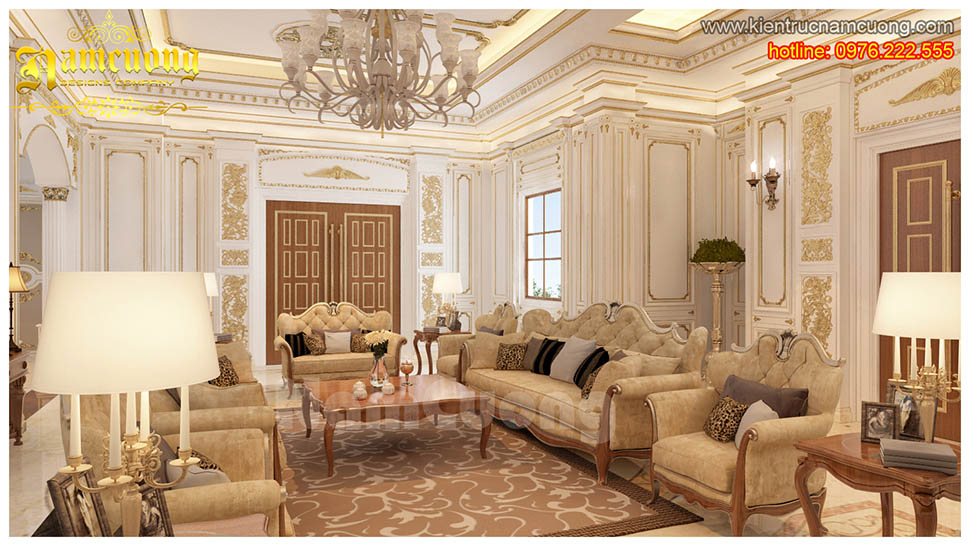 3 mẫu sofa tân cổ điển cho phòng khách đẹp