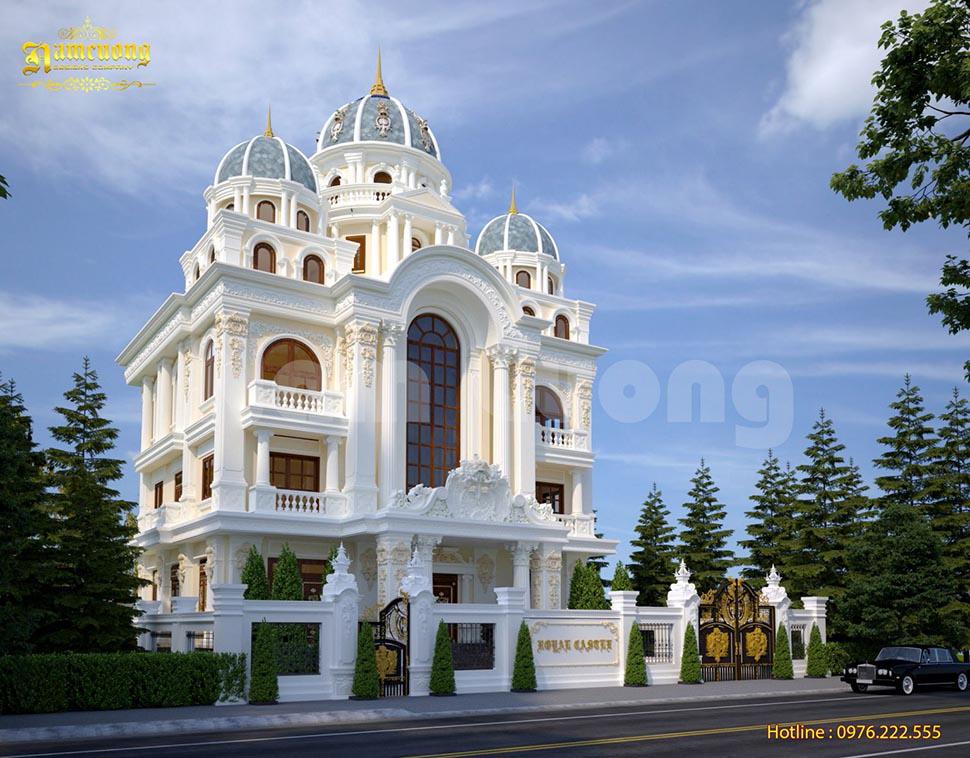 Thiết kế biệt thự lâu đài đẳng cấp xa hoa