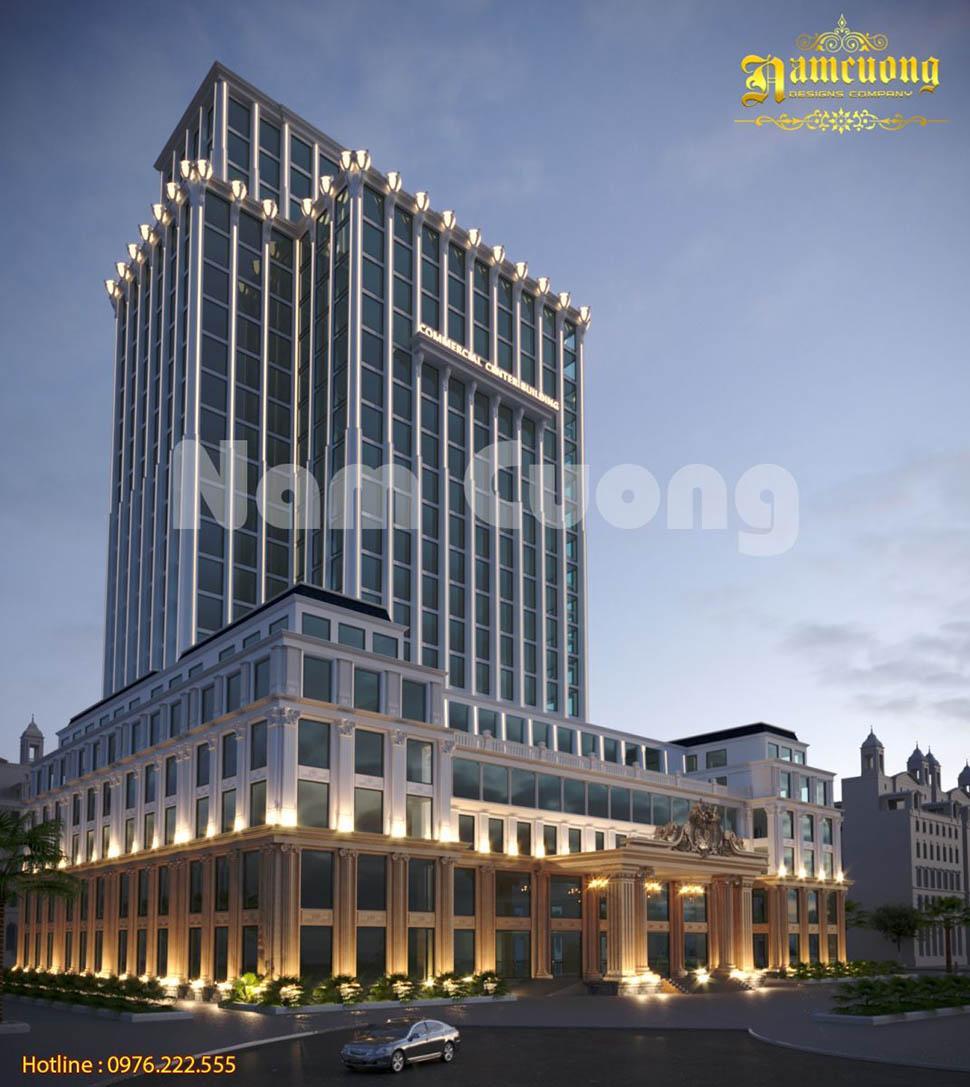 Thiết kế khách sạn 5 sao đẳng cấp