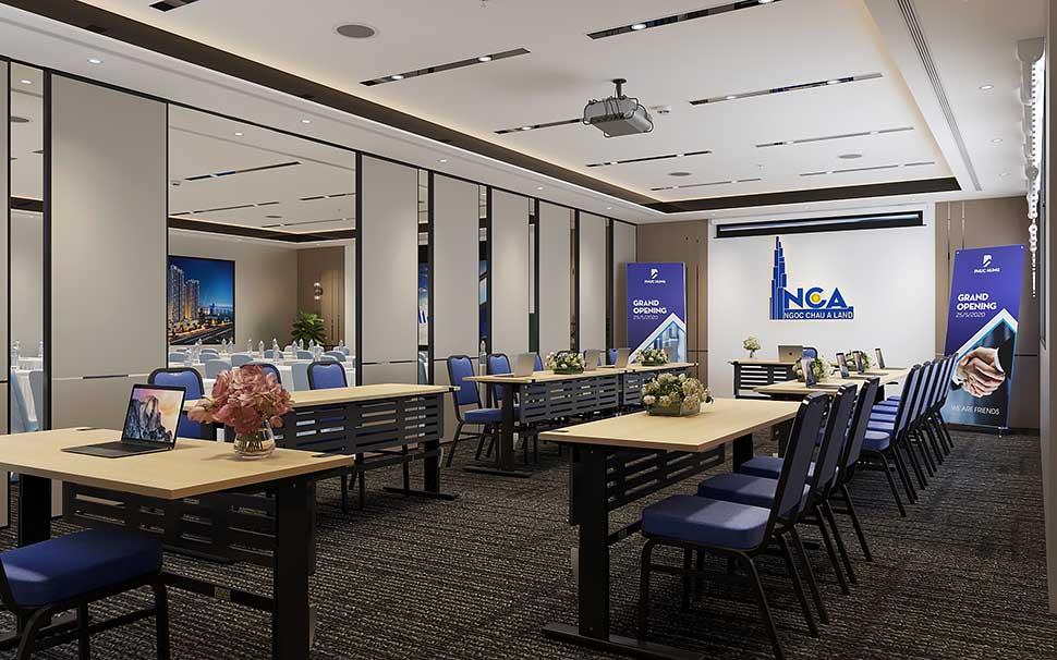 Nam Cường giới thiệu mẫu thiết kế nội thất văn phòng công ty Phục Hưng siêu đẹp