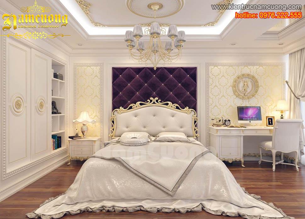 Các mẫu thiết kế phòng ngủ 2 vợ chồng đẹp ấn tượng