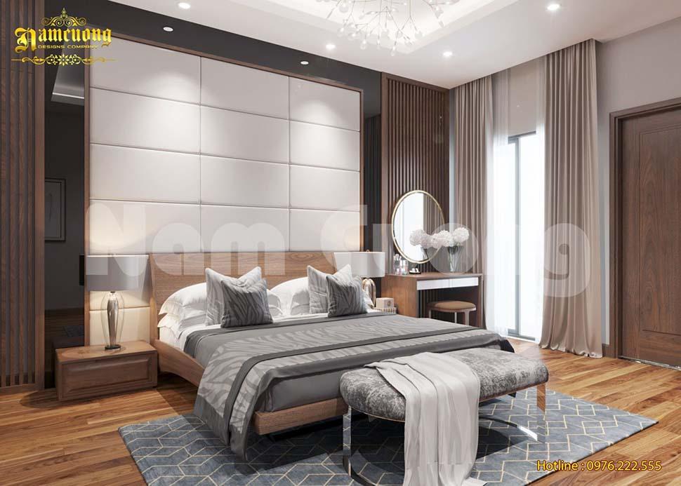 Thiết kế phòng ngủ chung cư cao cấp hiện đại