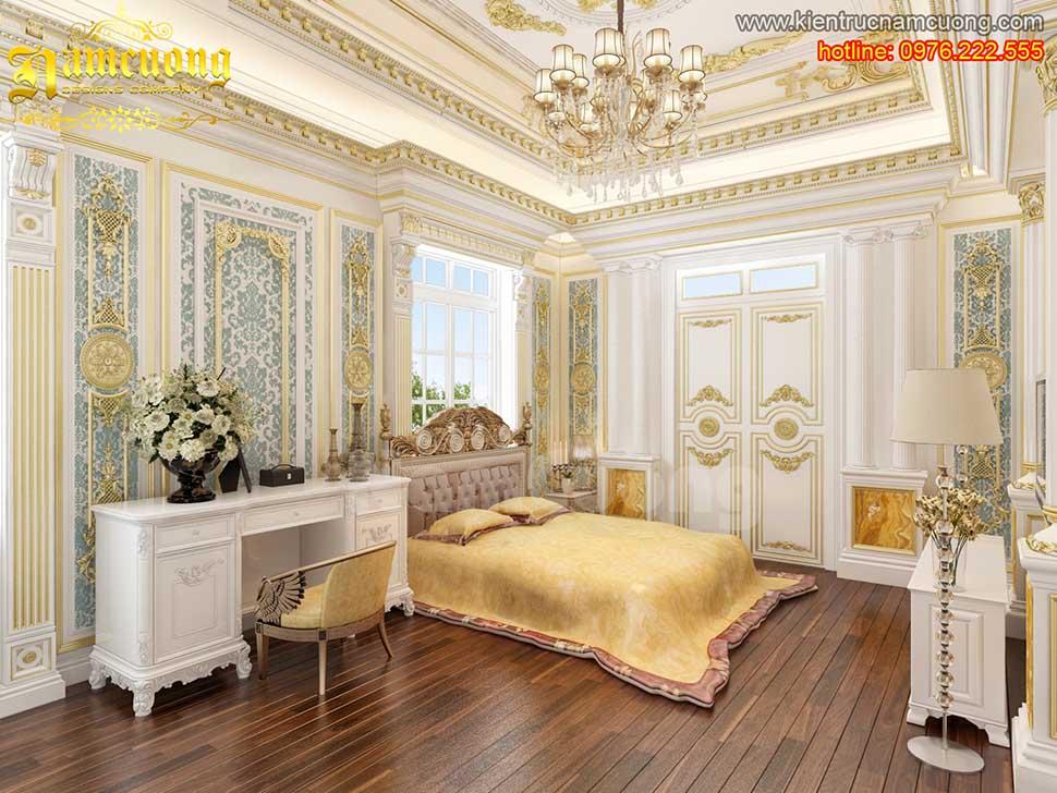 Các mẫu thiết kế phòng ngủ đẹp sang trọng
