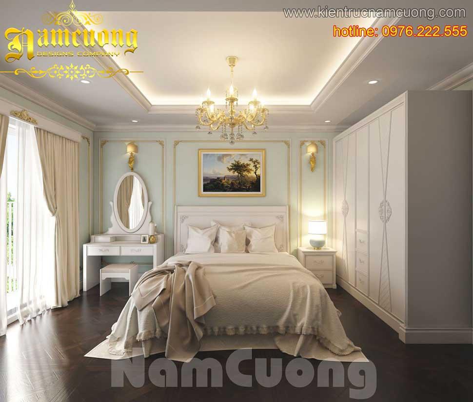 Những mẫu thiết kế phòng ngủ đẹp tại Sài Gòn