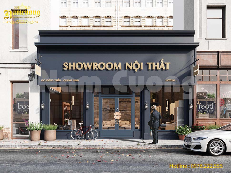Thiết kế showroom nội thất đẳng cấp tại Hải Phòng