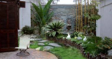 Những không gian sân vườn, tiểu cảnh đẹp mãn nhãn