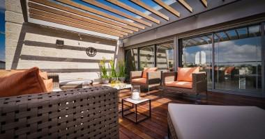 Căn hộ penthouse có nội thất trong mơ tại Jerusalem - Isarel