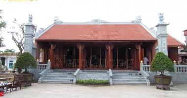Hoàn thiện thi công nhà thờ họ tại Vĩnh Bảo - Hải Phòng