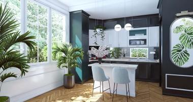 Những phương pháp giúp tăng diện tích phòng bếp hiệu quả