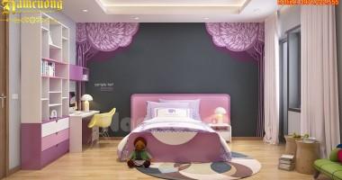 Lưu ý khi thiết kế nội thất phòng ngủ trẻ em