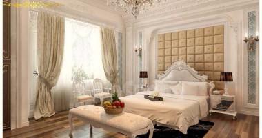 Tham khảo các mẫu giường ngủ phong cách tân cổ điển