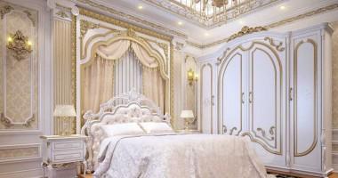 Các mẫu thiết kế phòng ngủ màu trắng nhẹ nhàng, tinh tế