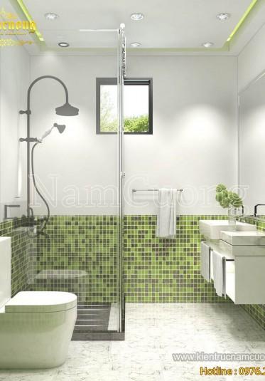 Các mẫu nhà WC phong cách hiện đại