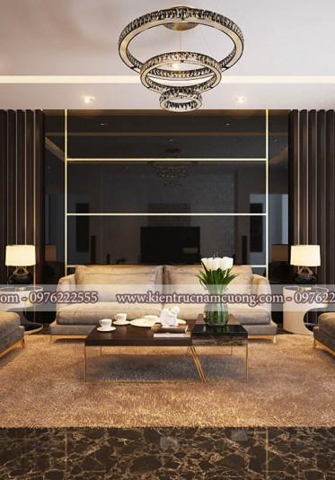 Độc đáo mẫu nội thất cho biệt thự hiện đại tại Hải Phòng