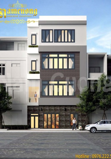 Thiết kế nhà phố ngang 6m hiện đại tại Hải Phòng