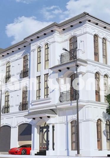 Thiết kế biệt thự hiện đại cho CĐT anh Khắc tại Hải Phòng - BTHD 020