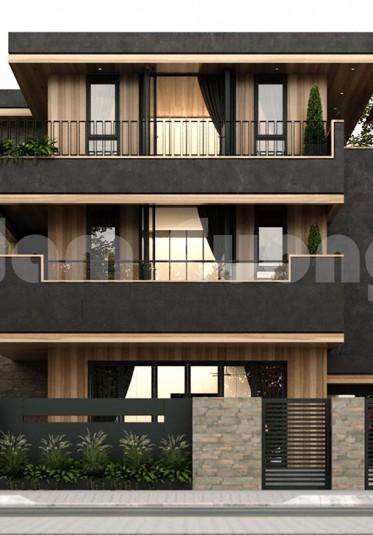 Thiết kế biệt thự 3 tầng hiện đại siêu đẹp tại Hải Phòng