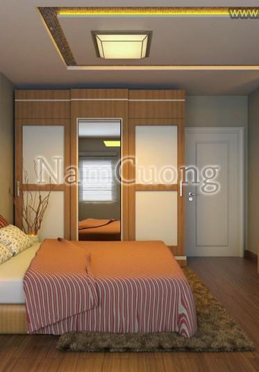 Mẫu thiết kế phòng ngủ hiện đại, trẻ trung tại Hải Phòng - NTNHD 017