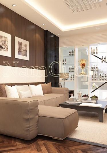 Thiết kế nội thất nhà phố hiện đại đẹp tại Quảng Ninh - NTBTHD 011