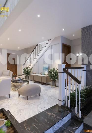 Thiết kế nội thất khách bếp hiện đại cho không gian hẹp